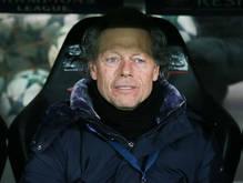 Michel Preud'homme op de bank als trainer bij Club Brugge