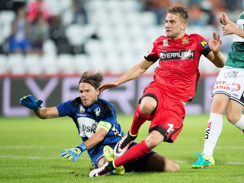 Lukas Grozurek erzielte für die Admira den erlösenden Treffer