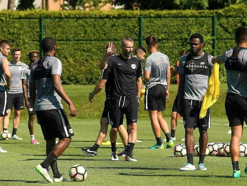Erstes Training unter dem neuen Trainer