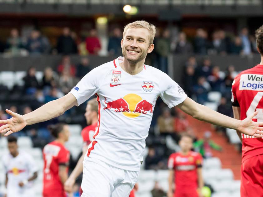 Konrad Laimer ging um sechs bis acht Millionen Euro