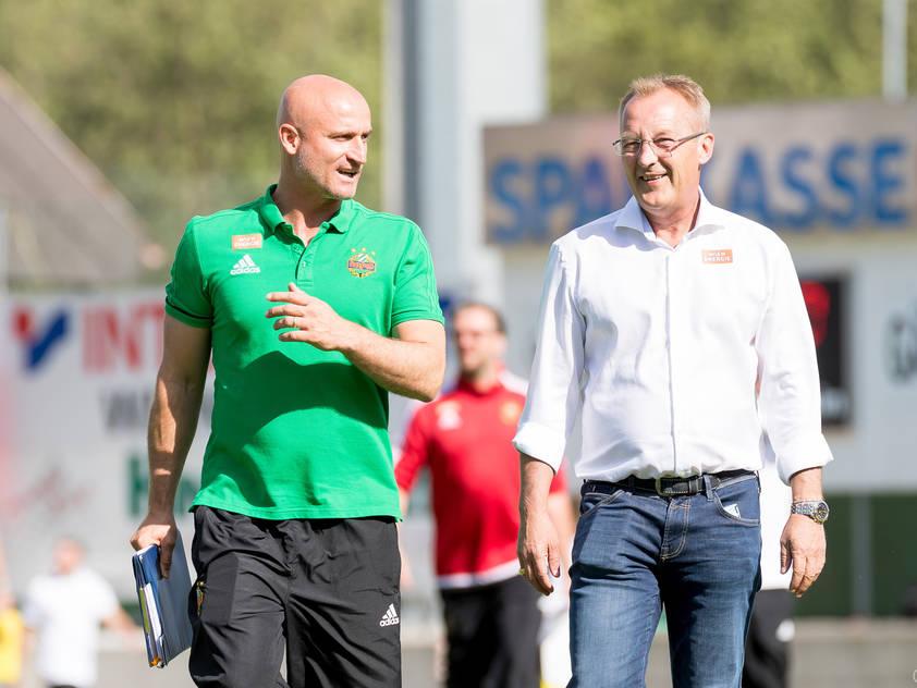 Sportchef Bickel kündigt Verstärkungen an, Trainer Djuricin freut sich