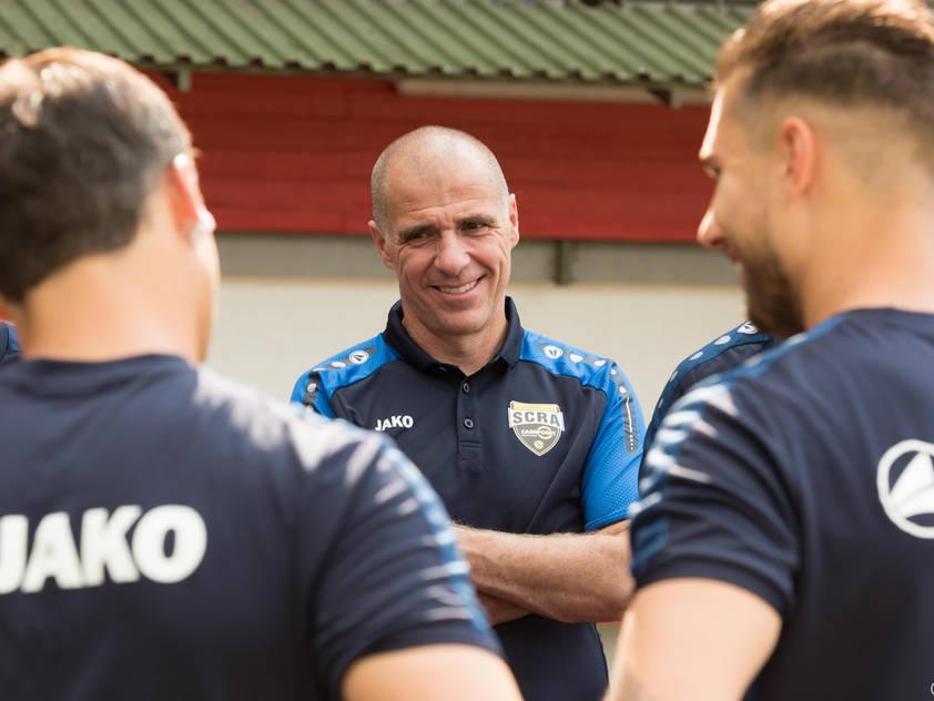 Altach-Trainer Klaus Schmidt: