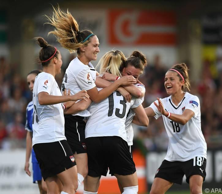 Berechtigter Jubel beim ÖFB-Nationalteam der Frauen