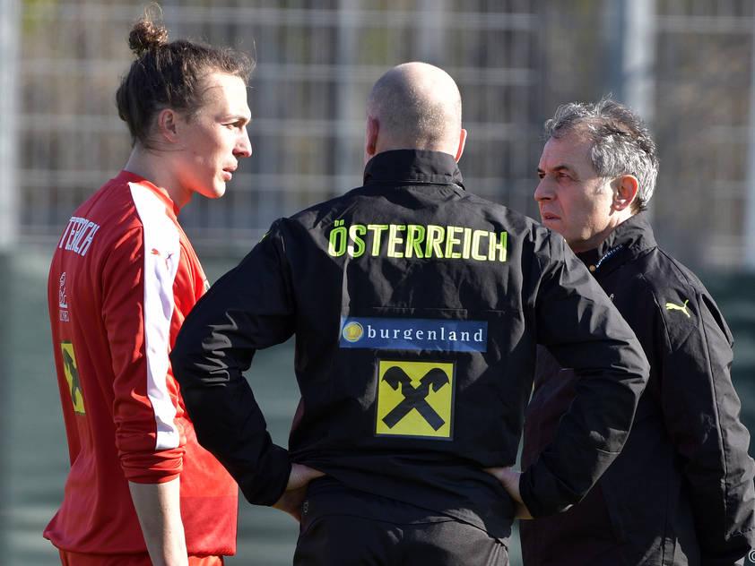 Julian Baumgartliner musste Teamchef Marcel Koller absagen