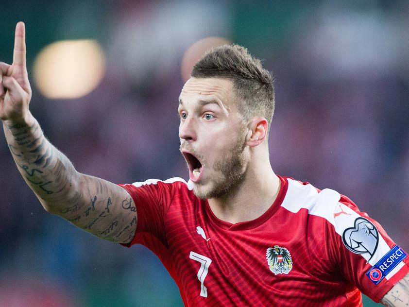 Marko Arnautović wurde das 1:0 gegen Moldau zugesprochen