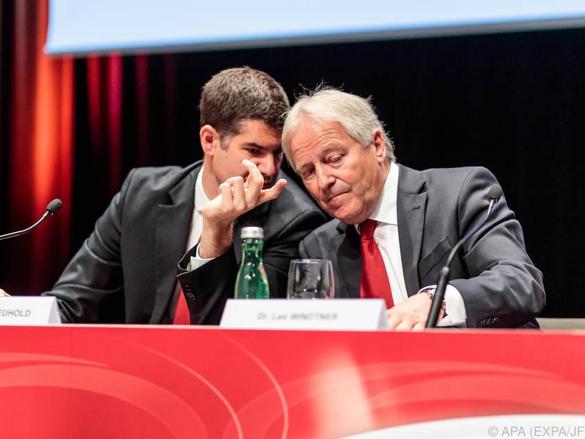 Windtner als ÖFB-Präsident im Amt bestätigt