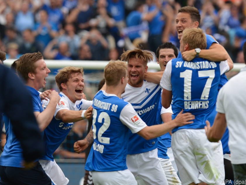 Darmstadt erstmals seit 1982 wieder in der Bundesliga
