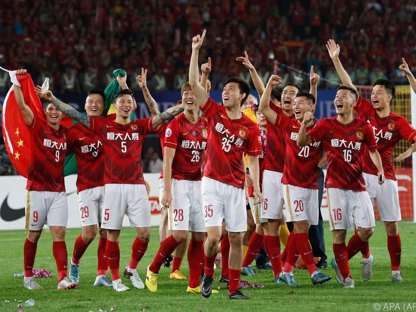 Guangzhou Evergrande gewann 2015 die AFC Champions League