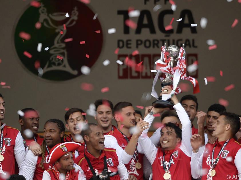 Braga gewann das Cup-Finale gegen den FC Porto