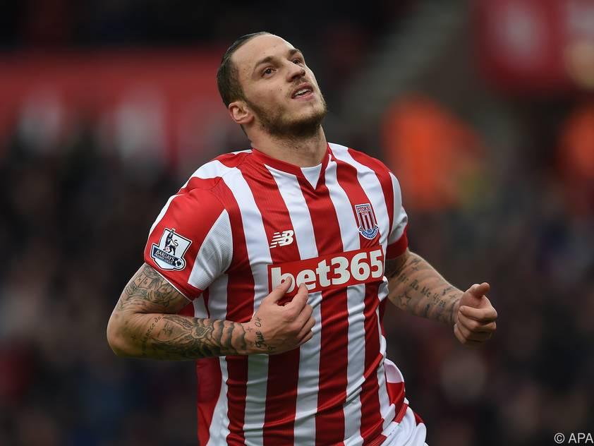 Marko Arnautović soll in Stoke bleiben