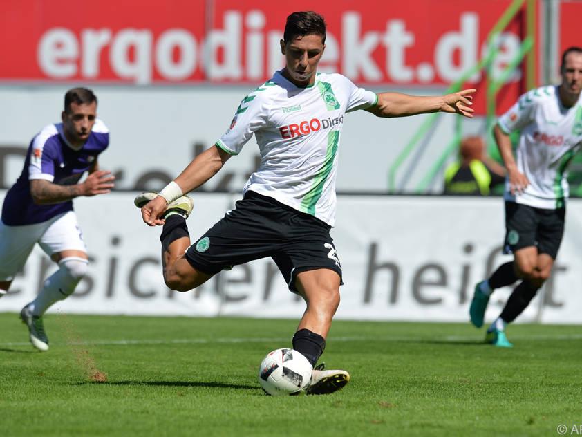Robert Zulj schoss Penalty deutlich über das Tor