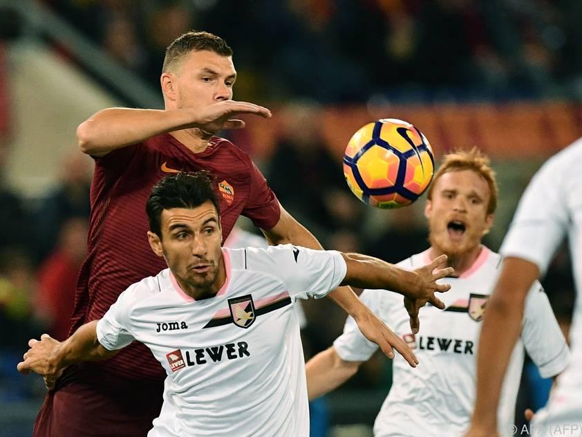 Roma liegt jetzt nur mehr zwei Punkte hinter Juventus
