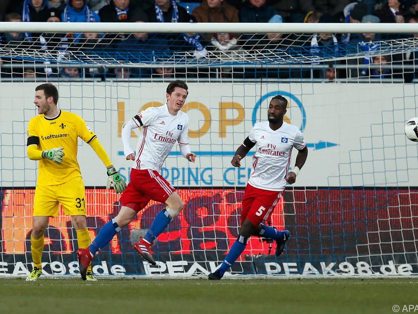 Michael Gregoritsch jubelt nach seinem Treffer zur 1:0-Führung