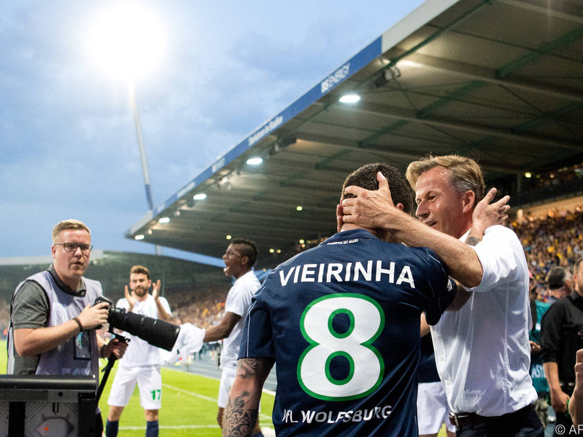 Wolfsburg rettete sich in Braunschweig vor dem Fall in die 2. Liga