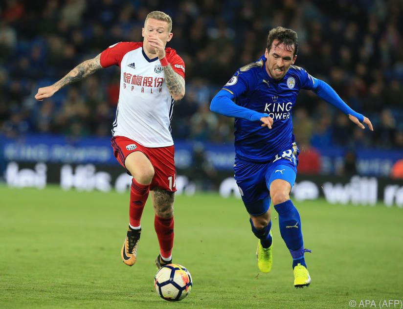 Christian Fuchs spielte bei Leicester durch