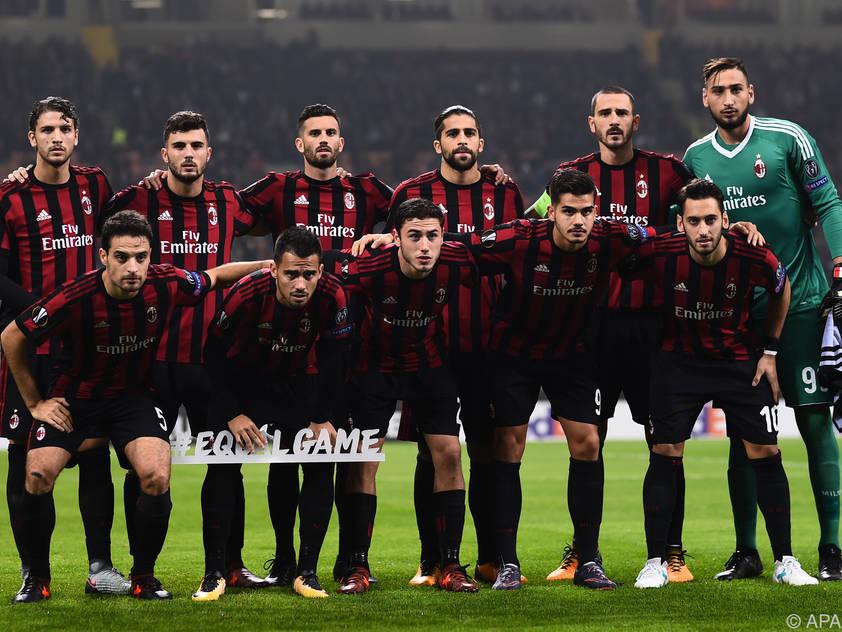 Der AC Milan hat heuer sehr viel Geld in neue Spieler investiert