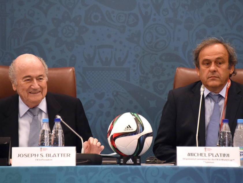 Michel Platini will Joseph Blatter als FIFA-Boss beerben
