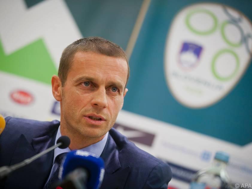 Aleksander Ceferin hat große UEFA-Ambitionen