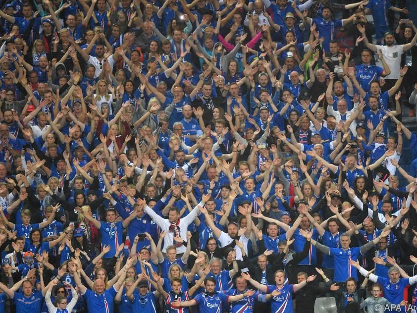 Isländer begeisterten bei der EM in Frankreich