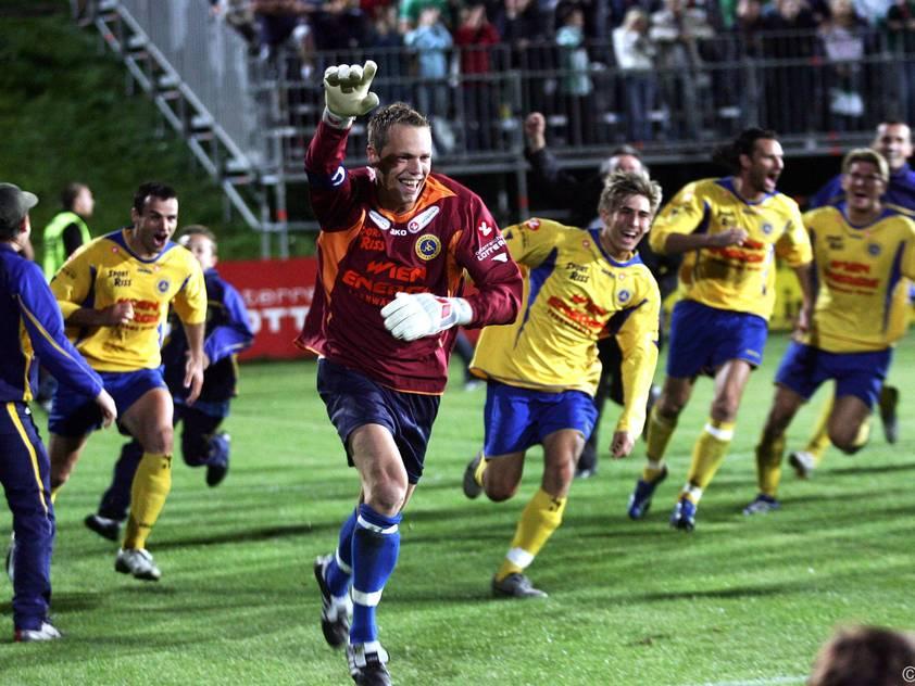 Die Vienna überraschte Rapid 2006 im ÖFB-Cup