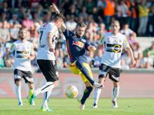 Salzburg liegt nun vier Zähler hinter Sturm Graz
