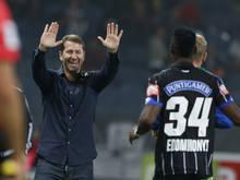Franco Foda ist in der Bundesliga zum 308. Mal als Sturm-Trainer dabei