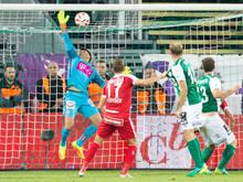 Die Austria tat sich trotz des 2:0-Erfolgs gegen Mattersburg schwer