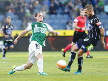Patrick Bürger (l.) erzielte für Mattersburg in der 36. Minute die Führung