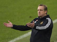 Mike Büskens wurde als Rapid-Trainer vom Dienst freigestellt