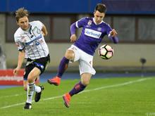 Das letzte Spiel in Wien endete 2:0 für die Veilchen