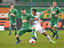 Rapid kam im Heimspiel gegen Admira Wacker nicht über ein 0:0 hinaus