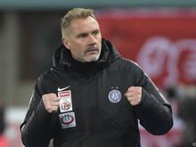 Der Austria-Coach gibt sich kämpferisch