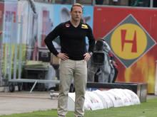 SKN-Trainer Jochen Fallmann ist vom Klassenerhalt seiner Wölfe überzeugt