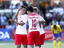 Salzburg geht erneut als haushoher Favorit in die Saison
