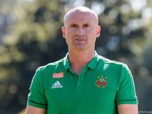 Rapid-Coach Djuricin peilt die Top drei an
