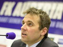 Austria-Finanzvorstand Markus Kraetschmer ist zufrieden