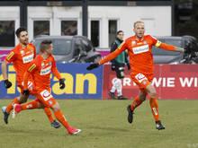 Holzhauser schoss die Wiener zum 2:1-Sieg