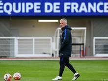 Frankreich hofft nach EM-Sieg 1984 und WM-Titel 1998 auf Hattrick