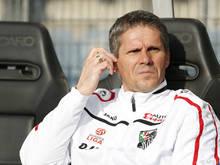 Trainer Didi Kühbauer fordert volle Konzentration auf das  Rückspiel gegen Shakhter Soligorsk