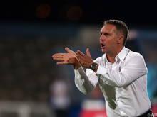 Altach-Coach Damir Canadi: Enttäuscht und dennoch zufrieden mit seinem Team
