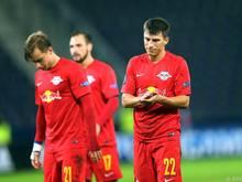 Die Salzburger schlichen nach dem Spiel geprügelt dahin