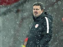 Salzburg-Coach Oscar plagen Verletzungssorgen