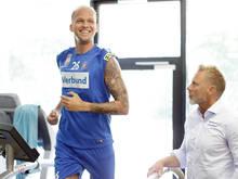 Raphael Holzhauser geht unbelastet ins Spiel