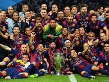 Der FC Barcelona ist als Titelverteidiger gesetzt