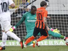 Bernard erzielte das 1:0 für die Ukrainer