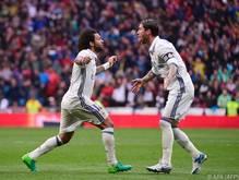 """Für Zinedine Zidane ist Marcelo (links) in der """"Form seines Lebens"""""""