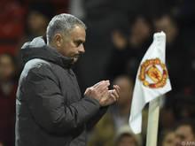 ManU-Coach Mourinho will wieder Trophäen abräumen