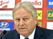ÖFB-Boss Leo Windtner gefallen nicht alle Entwicklungen der UEFA
