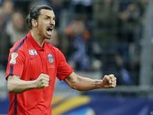 Ibrahimovic wieder einmal entfesselt