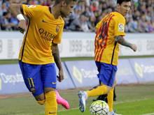 Neymar und Messi versagten in Vigo